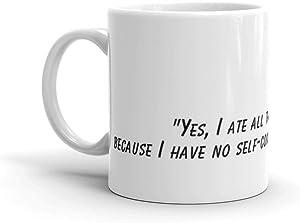 Bojack horseman muffin quote fan art. 11 Oz Classic Coffee Mugs, C-handle And Ceramic Construction. 11 Oz Fine Ceramic Mug With Flawless Glaze Finish