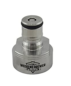 Stainless Steel Carbonation Cap by The Weekend Brewer