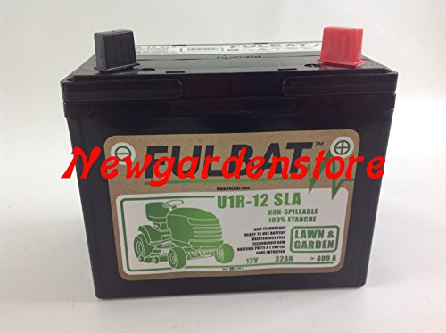 Batería Gel arranque eléctrico Cortacésped tractor 12 V 32 ...