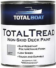 TotalBoat TotalTread Non-Skid Deck Paint, Marine-Grade Anti-Slip Traction Coating for Boats, Wood, Fiberglass,