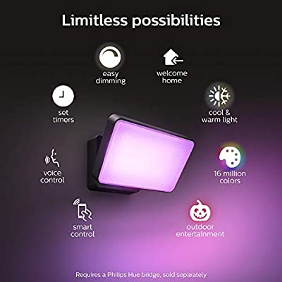 Philips Hue Discover Outdoor White & Color Ambiance Smart Floodlight