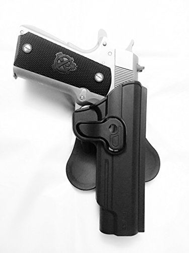 1911-Fast-Draw-Trigger-Release-Paddle-Holster-Fit-all-5-1911-without-Rail-Right-Hand
