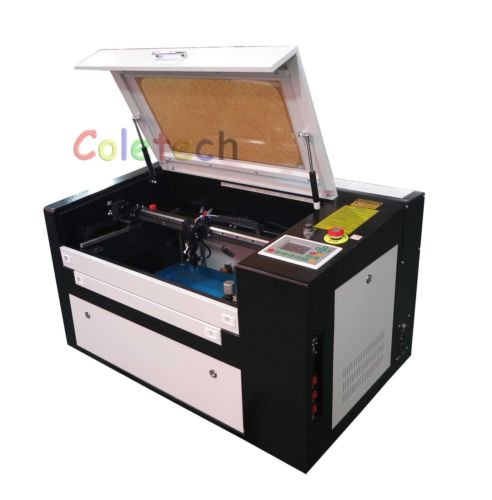 Brand New 50W CO2 Laser Engraving Cutting Machine with Auxiliary Rotary Device B