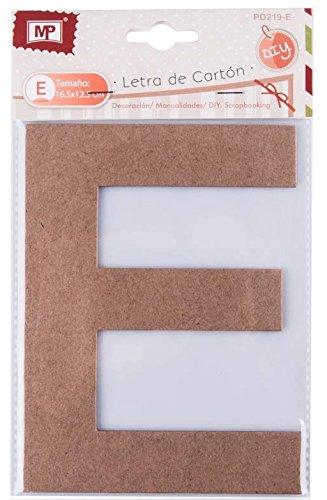 MP pd219-e –  Lettera grande di Carton, 16.5 cm 16.5cm Madrid Papel Import