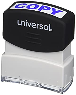 Universal Message Stamp, Copy, Pre-Inked/Re-Inkable