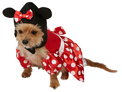 Rubie's Official Minnie Mouse Costume, Black/red - X-small]()