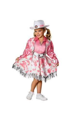 Western Diva Costume - Small (Cowgirl Costume For Toddler)