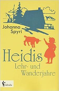 Book Heidis Lehr- und Wanderjahre