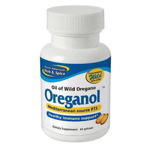 North American Herb and Spice, Oreganol P73 Gel-Capsules, 60 X - Of Taste Wisconsin