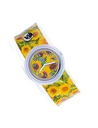 Watchitude Plunge Proof Slap Watch - Sunflower - Kids Watch for Boys & Girls