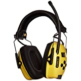 Stanley RST-63012 Sync Radio Hearing Protector with Digital Am/Fm/Mp3