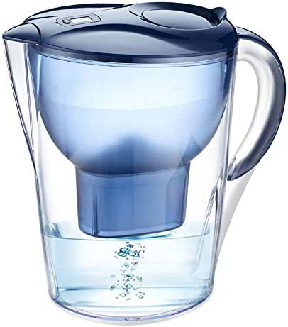 Gaone Water Purifier Pitcher Filters W/Longest Lasting Advanced XL Water Purification Filter 4-Layer Filtration for Chlorine, Lead, Heavy Metals and Odor 3.5L
