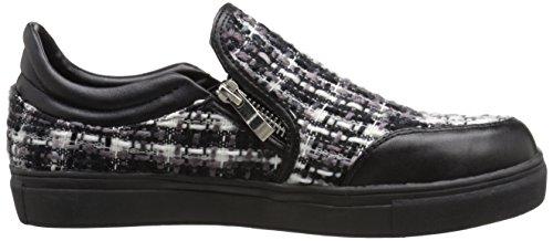 Gewenste Schoenen Dames Manitoba Fashion Sneaker Zwart