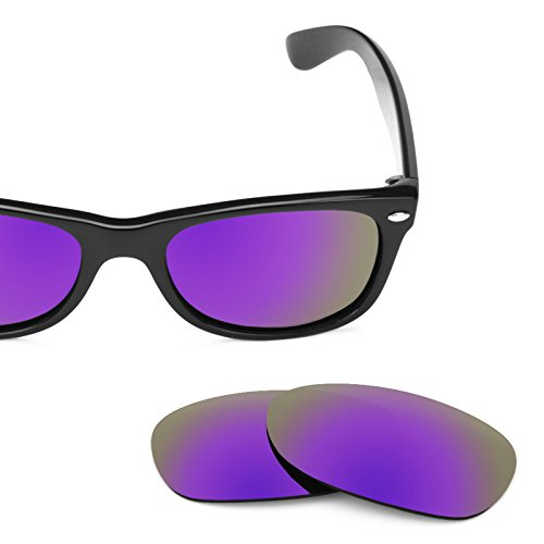 RB2132 New options Plusieurs Ban 52mm — Wayfarer pour Ray Polarisés MirrorShield® rechange de Verres violet wXxqZP8Z