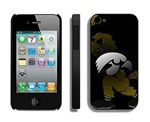 Iowa Hawkeyes Customized Iphone 4 4S Case 36764