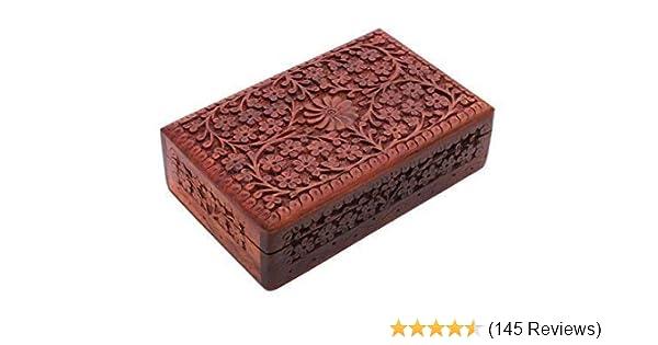 Jewellery Storage Box Design 12 Handmade Rectangle Wooden Rosewood Box Trinket