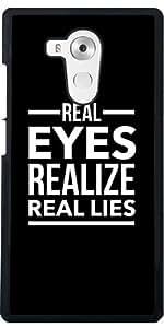 Funda para Huawei Mate 8 - Ojos Reales Se Dan Cuenta De Las Mentiras Reales by wamdesign