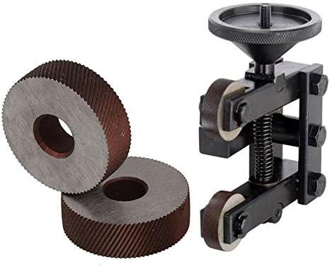 NO LOGO Rändelwerkzeug 1 Paar 1.8mm Wälzfräser Rad Rändelrad Strukturierter Knurled Lathe Prägeradabschnitt Werkzeugmaschinen Zubehör Hebt