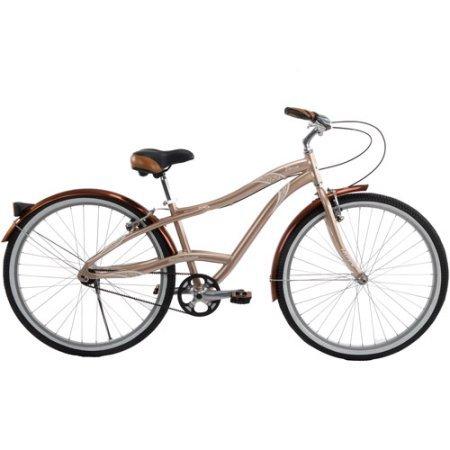 27.5'' Huffy 56915P7 Venue Women's Belt Drive Bike, Gold & Beige by Generic