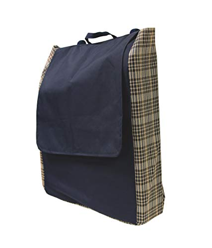 Kensington All Around Blanket Storage Bag, Navy - Kensington Blankets