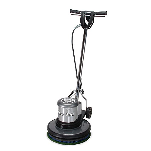Powr-Flite C171SD Classic Metal Floor Machine with Sandpaper Driver, 1.5 hp, 175 rpm, 17""