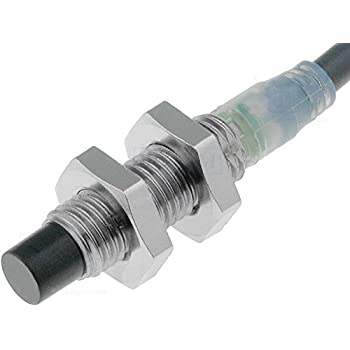 Omron E2B-S08KN04-WP-B1 2M Cylindrical Proximity Sensor M8 Non-Shielded Sensing distance 4mm Prewired 2m PNP NO