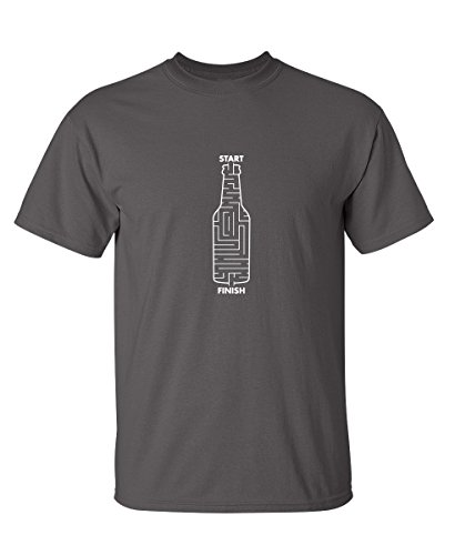 Beer Maze Graphic Funny Novelty Very Funny T Shirt M -