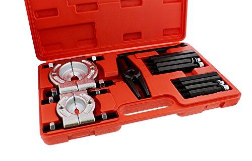 ABN Bearing Separator Set, 5-Ton Capacity – Bar-Type Bearing Splitter, Gear Puller, Fly Wheel Separator 12-Piece Kit by ABN (Image #2)
