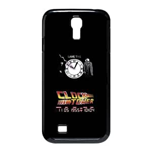 Fashion Back to the future save the clock tower Personalized samsung galaxy S4 I9500 Case Cover by supermalls