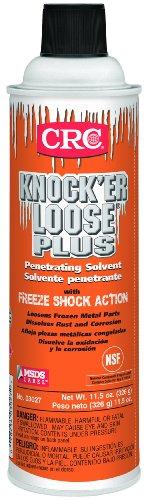 CRC 03027 Knock'Er Loose Plus Penetrating Solvent, (Net Weight:11.5 oz.) 20oz Aerosol