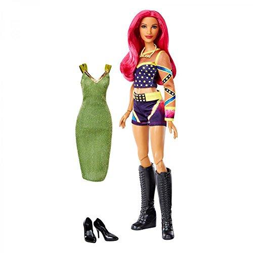 WWE Superstars Sasha Banks Fashion Doll Action Figure