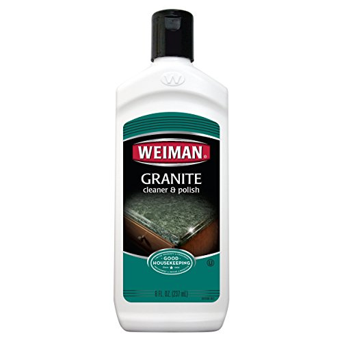 Weiman Granite Cleaner and Polish - 8 Ounce 6 Pack - For Granite Marble Soapstone Quartz Quartzite Slate Limestone Corian Laminate Tile Countertop and More by Weiman (Image #8)