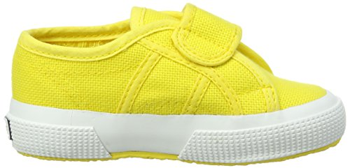 Superga 2750 BVEL, Unisex-Kinder Low-Top Sneaker Gelb (sunflower)