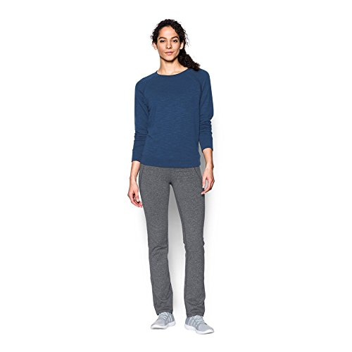 Under Armour Women's Mirror Straight Leg Pant, Rhino Gray/Tonal, Medium