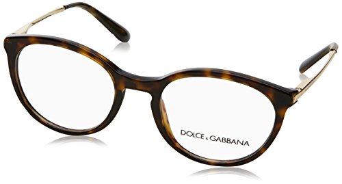 (Dolce&Gabbana DG3242 Eyeglass Frames 502-48 - Havana DG3242-502-48)