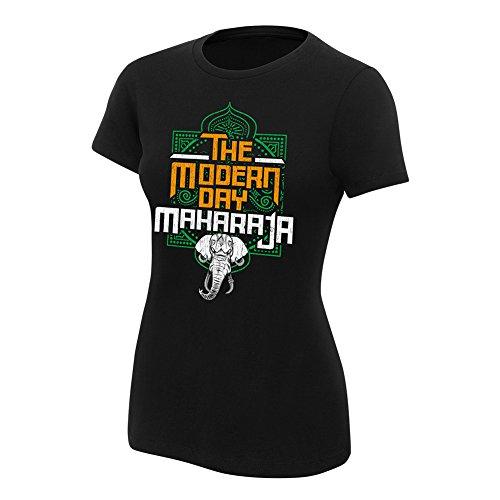 Mahal Tee (WWE Jinder Mahal Modern Day Maharaja Women's Authentic T-Shirt Black Small)