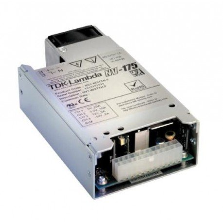 TDK-Lambda NV11T000 AC/DC Power Supply 180 W, 12 V, 15 A (180 Tdk)