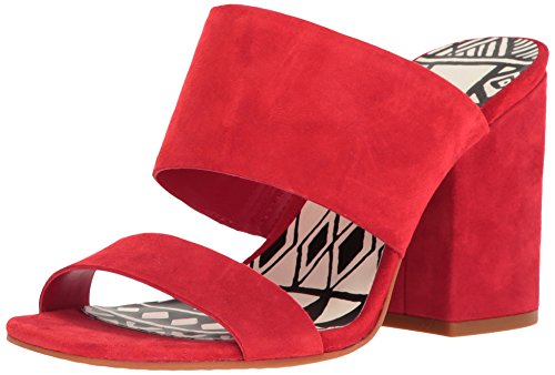 Dolce Vita Womens Elize Mule Red Suede CQmA5zm8