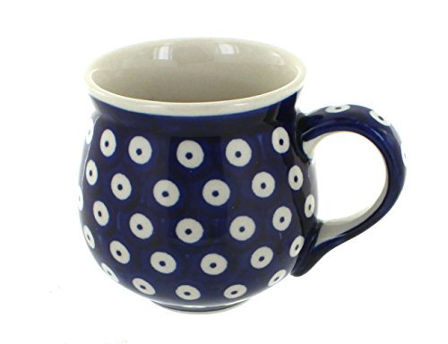 polish-pottery-dots-bubble-mug