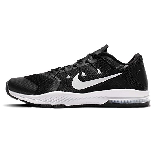 Nike Men's Zoom Train Complete TB, Black/White, 8 M US