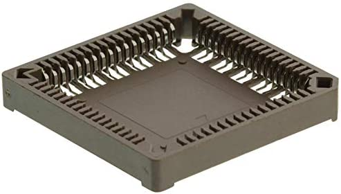 IC /& Component Socket Pack of 20 MC-68PLCC-SMT PLCC Socket 1.27 mm 68 Contacts Phosphor Bronze,
