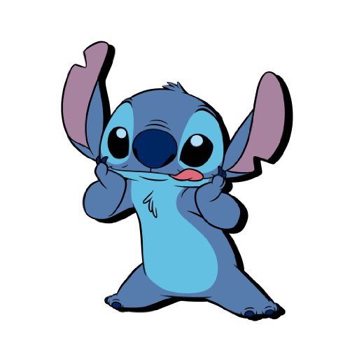 Refrigerator Collectible Magnet - Disney Stitch Soft Touch PVC Magnet