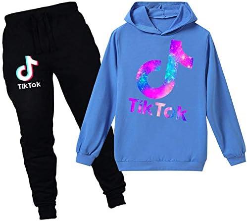 Tik Tok Hoodie voor Meisjes Kleding Tik Tok Merch Jongens Trainingspak Mode Tik Tok Sweatpants Beste Kids Geschenken