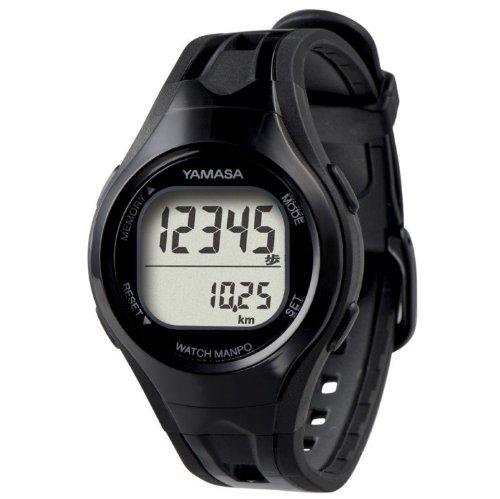 腕時計タイプだから、使いやすい!見やすい!歩いた振動や腕の振りで歩数をカウント!腕時計タイプだから、外れたり落としたりする心配がない!ブラック【3個セット】   B00W2UUV2I