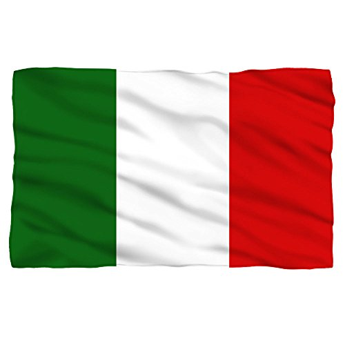 Italian Flag Fleece Blanket White 48X80 (Italian Flag Throw compare prices)