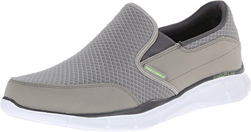 Skechers Men's Equalizer Persistent Slip-On Sneaker, Gray, 10 M US