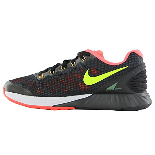 Nike Lunarglide 6 Black Youths Trainers Black