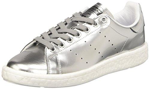 Met Low Sneaker Silver Met Multicolor Ftwr Boost Smith White Silver Neck adidas Women's Stan q4P6R