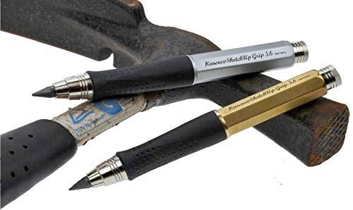 Kaweco Sketch Up Grip 5,6 mm 8 hexagonal Clutch pencil Brass by Kaweco (Image #1)
