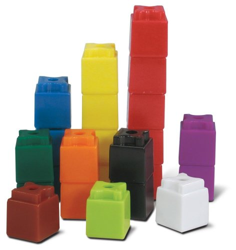 ETA hand2mind UniLink Interlocking Cubes, Set of 500